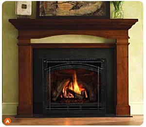gas appliance service serving the heating needs of the